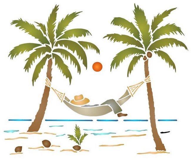 Absance pour Lodaca: Palmiers20hamac